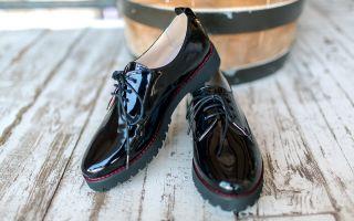 Подходящая школьная обувь для ребенка