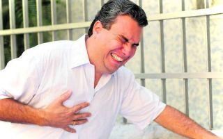 Микроинфаркт симптомы первые