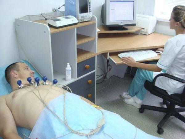Диагностика на аппарате ЭКГ
