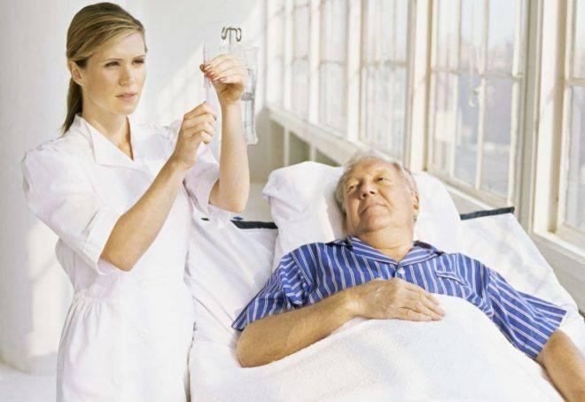 Терапия инфаркта в стационаре