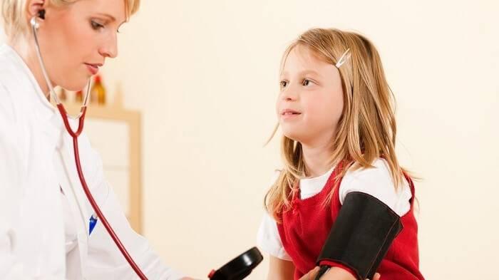 Понижение давления у детей