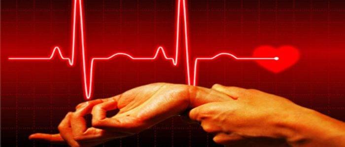 Сердцебиение 150 ударов в минуту
