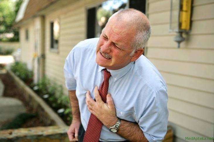 Симптомы инфаркта в острой стадии