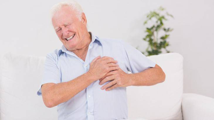 Симптомы инфаркта миокарда у людей пожилого возраста