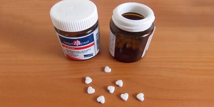 Таблетки «Кардиомагнил»