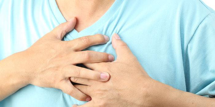 Боли в сердце в мужчины