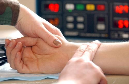 Измерение частоты пульса