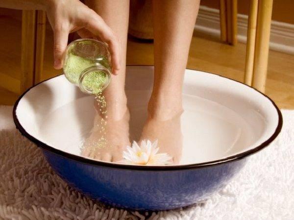 Ванночки для ног из настоя травы