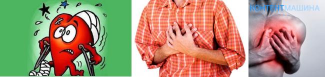 Колит сердце при глубоком вдохе — Сердце