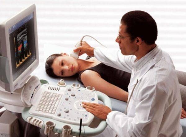 Диагностика заболевания с помощью УЗИ
