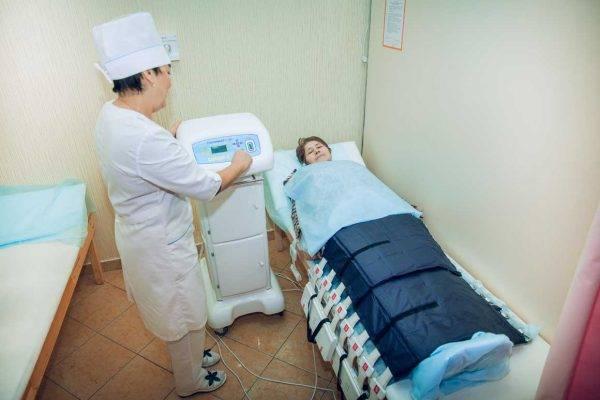 Физиотерапевтические процедуры в санатории