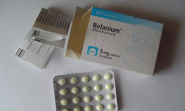 Реланиум назначается при синусовой аритмии
