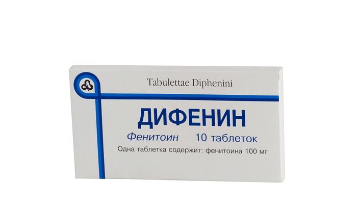 Дифенин от высокого пульса