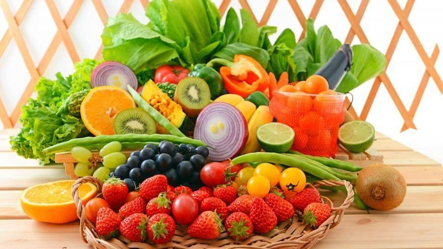 Овощи и фрукты в ежедневном рационе