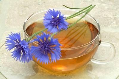 чай из синего василька